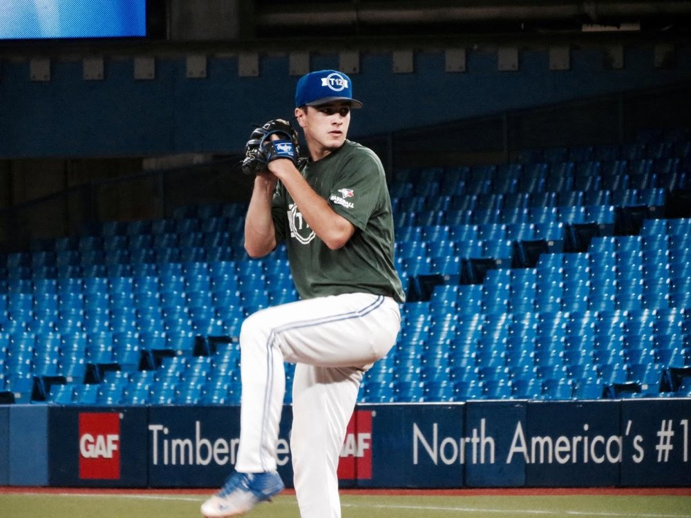 Ontario Blue Jays' RHP Lucas Barry (Toronto, Ont.)