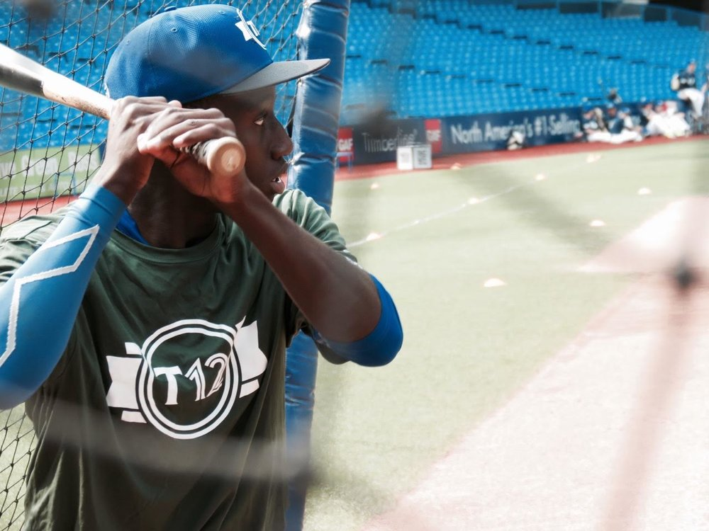 Ontario Blue Jays OF Dasan Brown (Oakville, Ont.) Ontario Green.