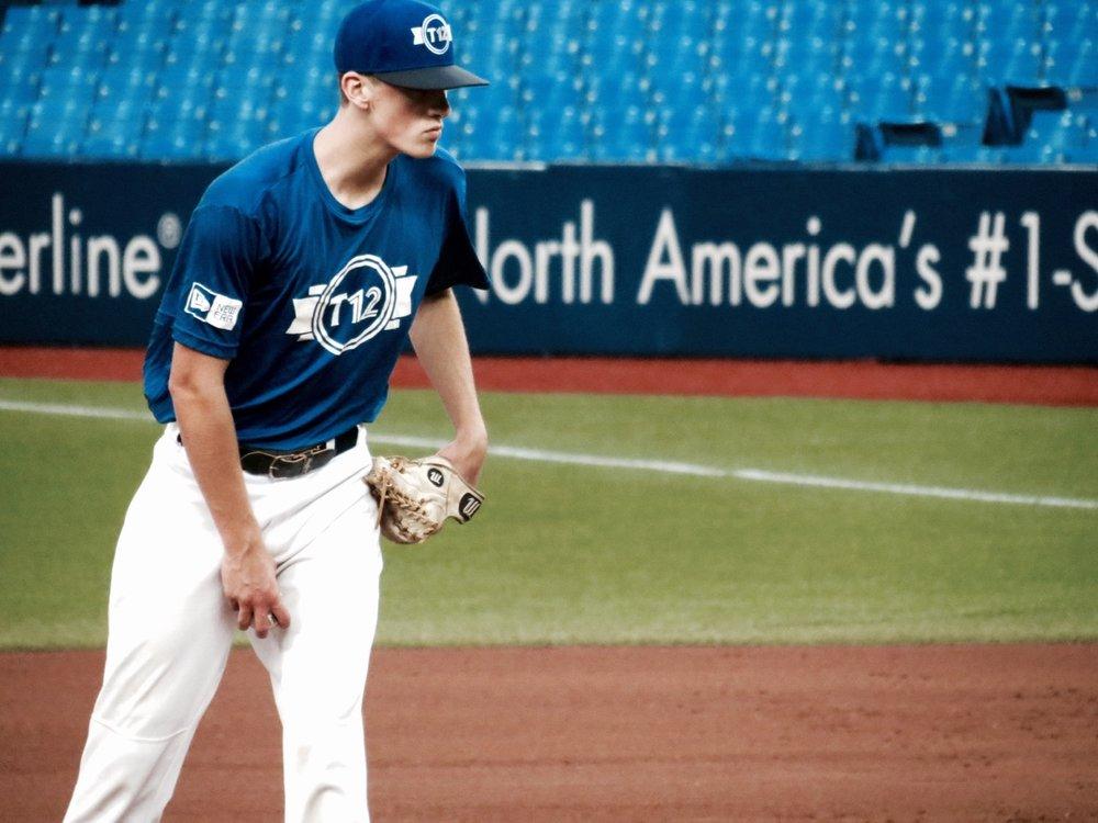 Academy Baseball Canada's (ABC) Emile Boies (Levis, Que.)
