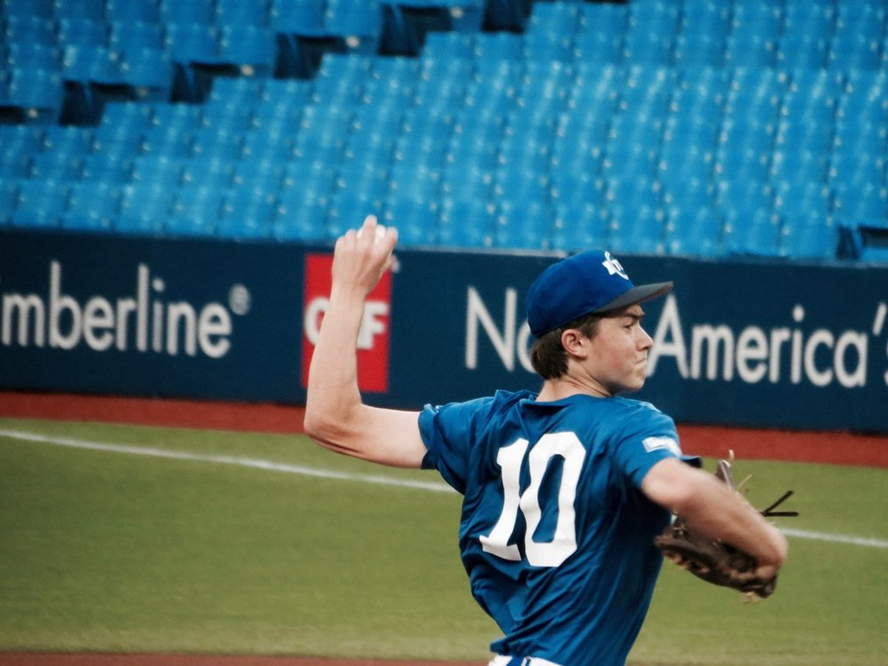 Academy Baseball Canada's (ABC) LHP Christoper Pouliot (Boischatel, Que.)