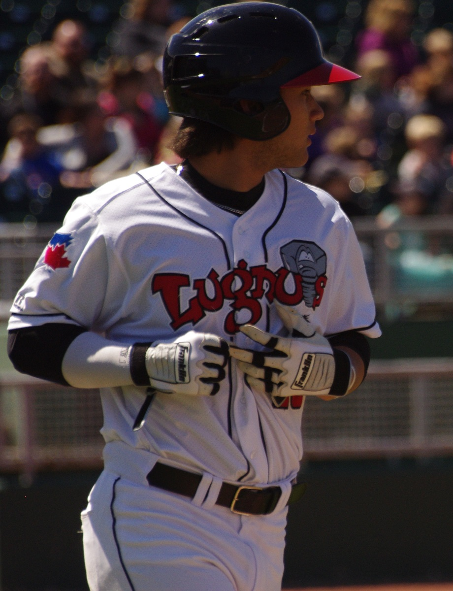 Even though he was promoted to class-A Dunedin in early July, Bo Bichette still managed to secure the Midwest League batting title when he hit .384 for the Lansing Lugnuts. Photo Credit: Jay Blue