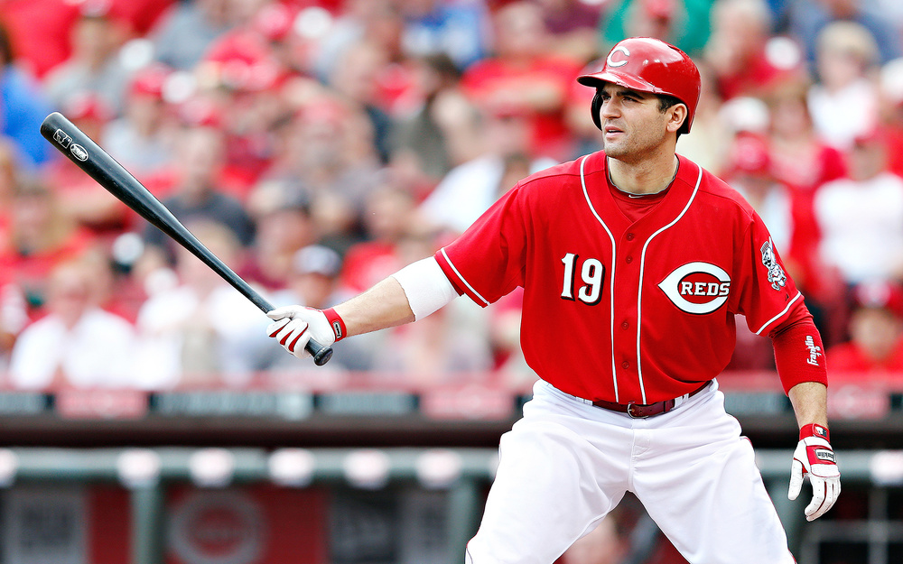 Etobicoke, Ont., native Joey Votto has enjoyed an MVP calibre season for the Cincinnati Reds this season. Photo Credit: Joe Robbins, Getty Images