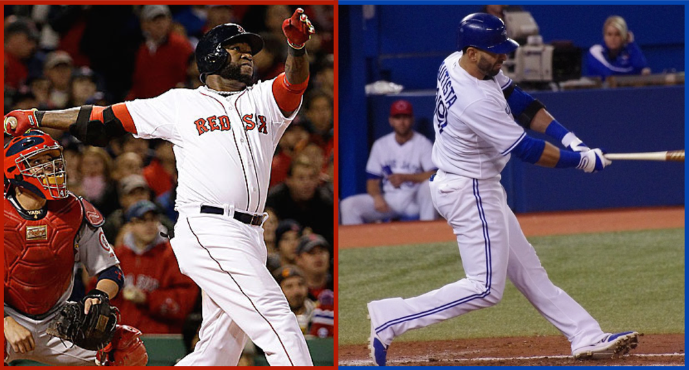 David Ortiz scuffled big time in 2010 and was written off by some. Jose Bautista struggled this year. Will he rebound? Imaging by Tyler King. Jose Bautista Photo: Jay Blue