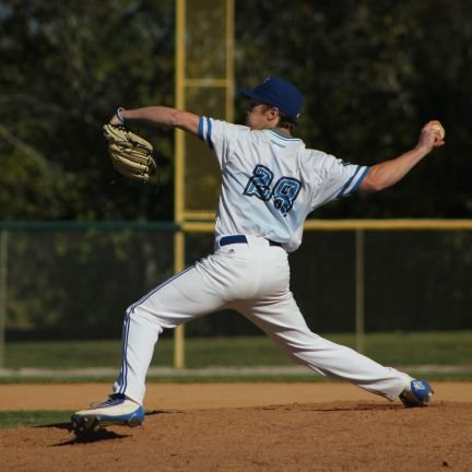 Jacob Kush (Guelph, Ont.) of the Ontario Blue Jays