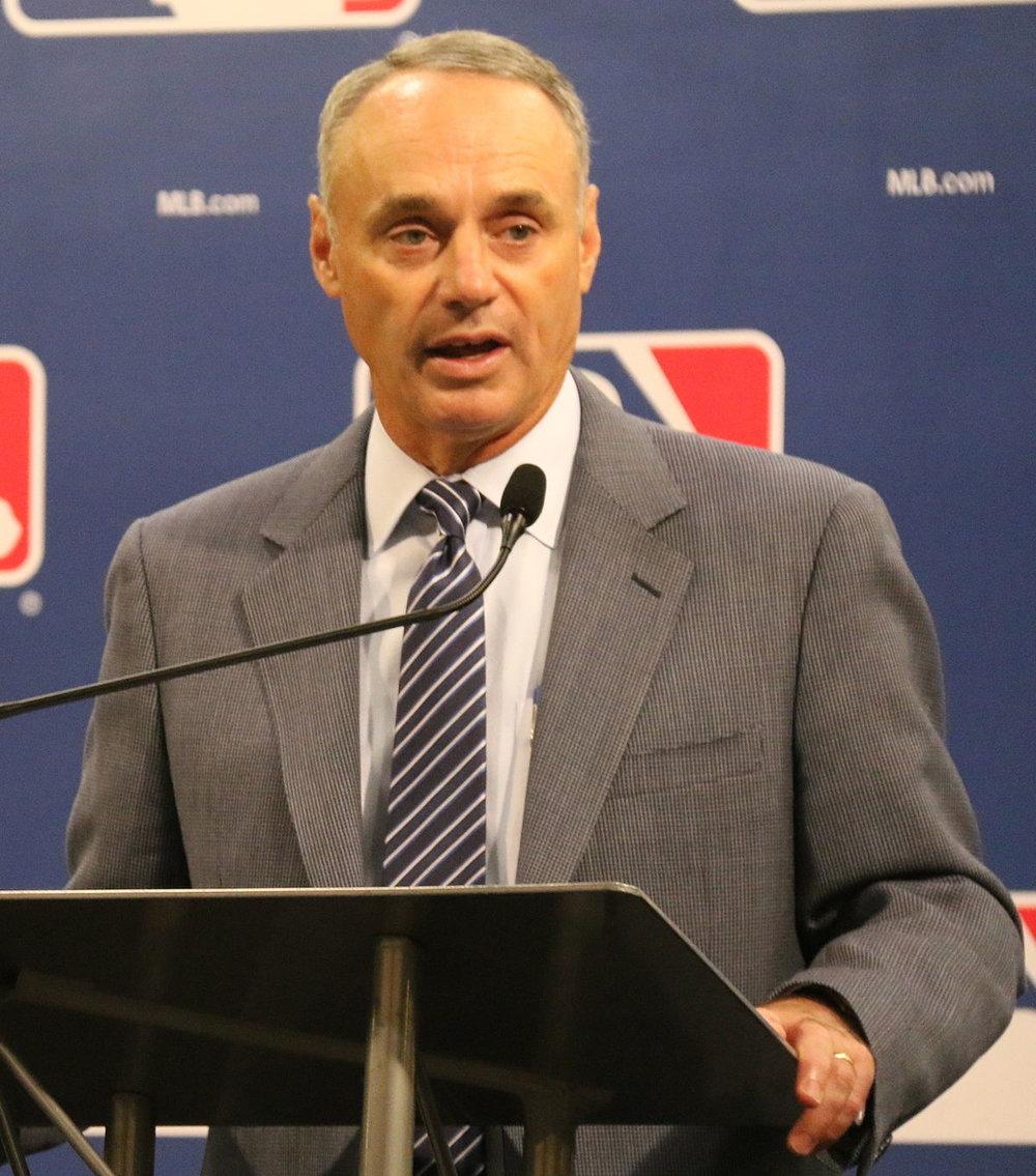 Major League Baseball commissioner Rob Manfred. Photo Credit: Wikipedia