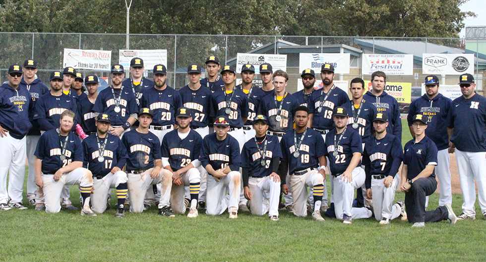 The Humber Hawks captured silver at the OCAA championship tournament on Saturday. Photo Credit: Humber Athletics