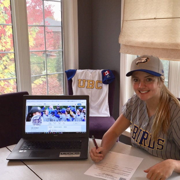 St. Marys, Ont., resident Mia Valcke has signed a letter of intent with the University of British Columbia. Photo Credit: Tom Valcke