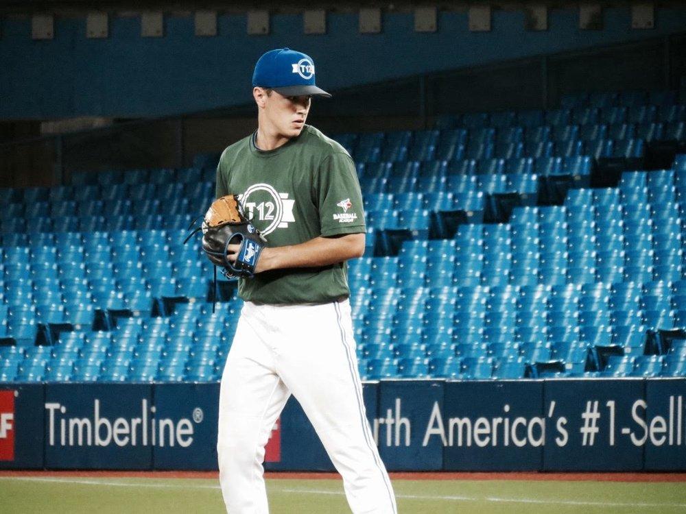 RHP Lukas Barry (Mississauga, Ont.) Ontario Blue Jays