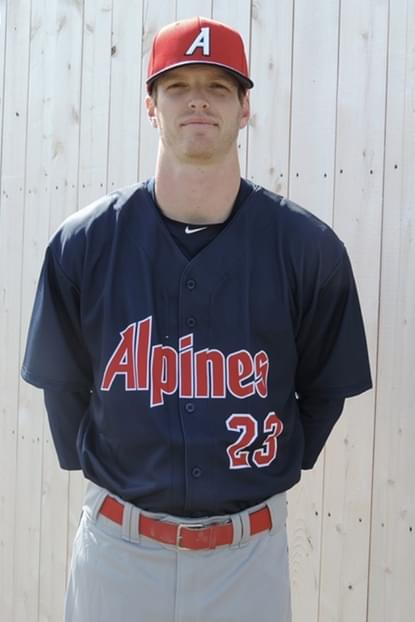 Cardiff, Calif., native and University of San Diego alum Jack Shannon played for the New Brunswick Senior League's Saint John Alpines this summer. Photo: Saint John Alpines