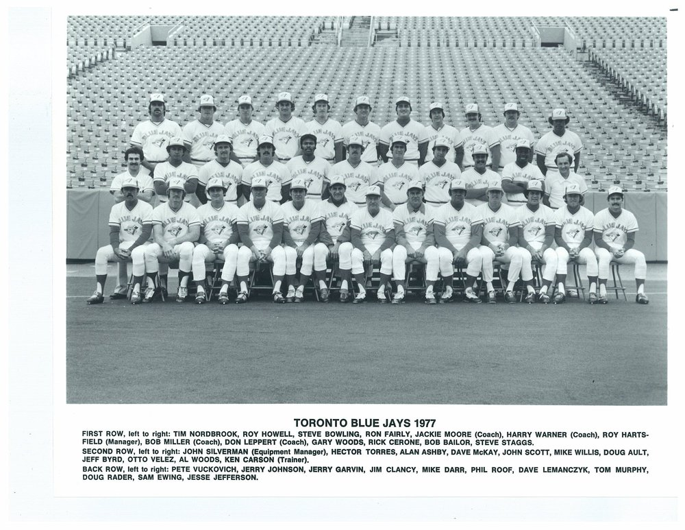 It was 41 years ago today that the Toronto Blue Jays started to build their first team via the 1976 Major League Expansion Draft. Photo Credit: Toronto Blue Jays