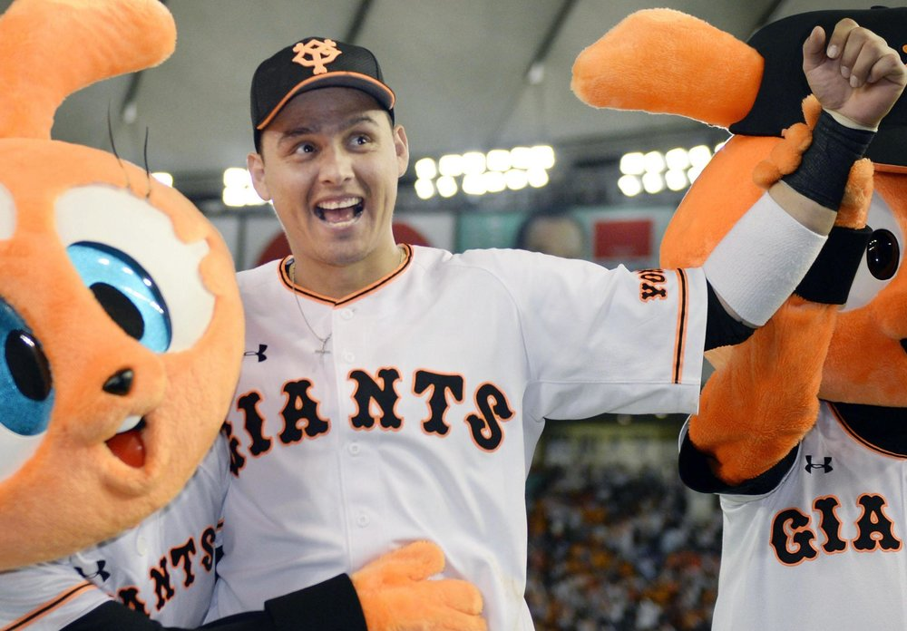 Scott Mathieson (Aldergrove, BC) Yomiuri Giants,