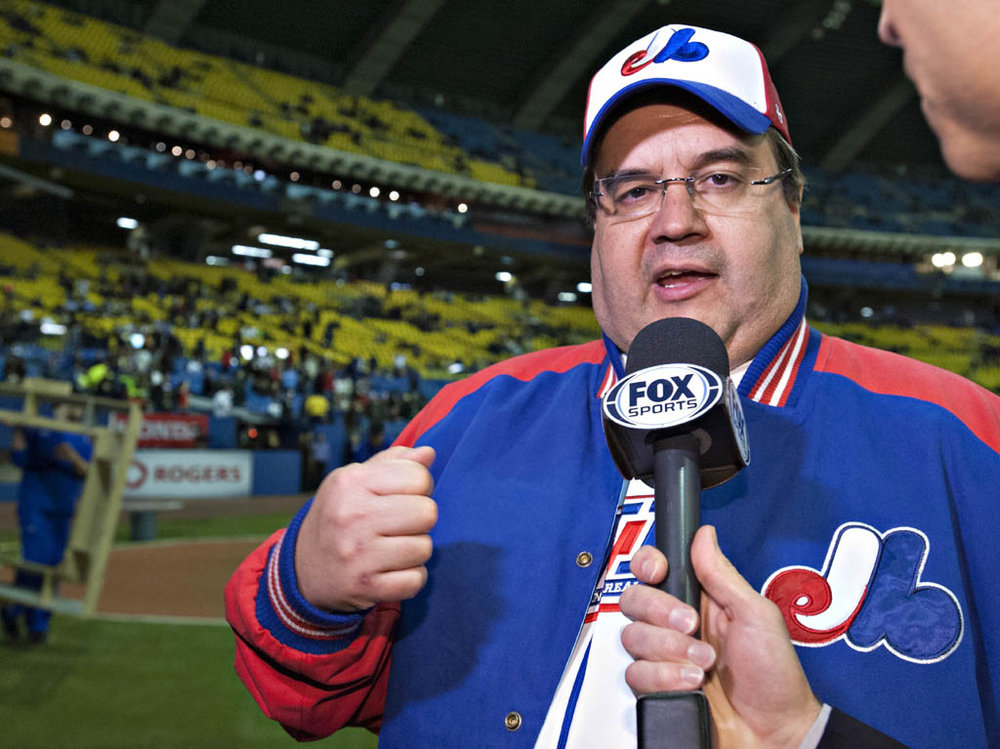 Denis Coderre's defeat in Montreal's mayoral election could represent a step back for those hoping for the return of a major league team to the city. Photo Credit: Montreal Baseball Project