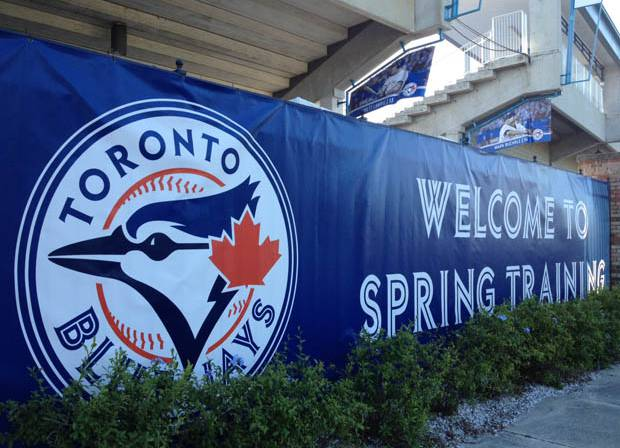 The Toronto Blue Jays announced their 2018 spring training schedule on Friday. Photo Credit: Global News.