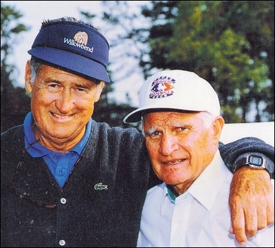 Ted Williams and Bobby Doerr