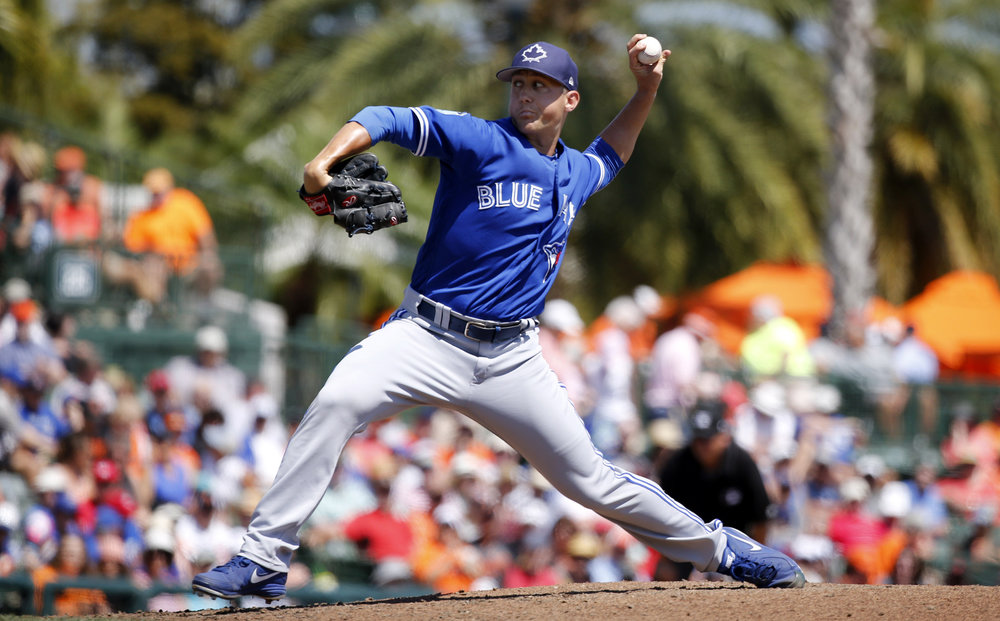 Left-hander Jeff Beliveau posted a 7.47 ERA in 19 relief appearances for the Toronto Blue Jays in 2017. Photo Credit: Kim Klement/USA Today Sports