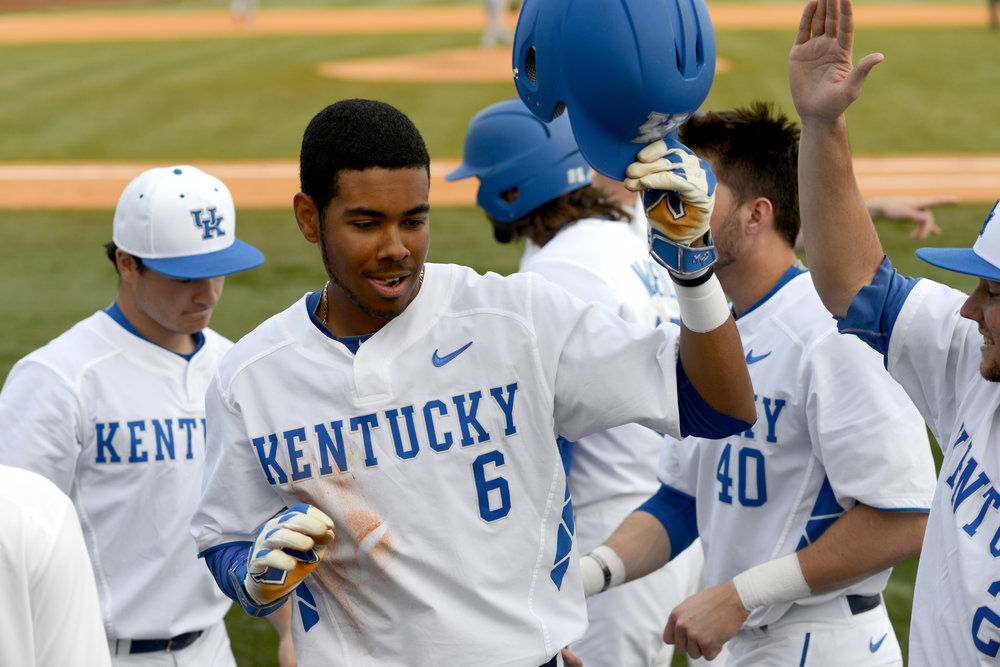 Kentucky's  Tristan Pompey (Mississauga, Ont.)