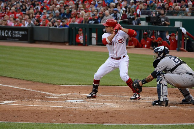 Joey Votto starred for the Etobicoke Rangers before becoming all-star first basemen for the Cincinnati Reds. Photo Credit: Flickr Creative Commons
