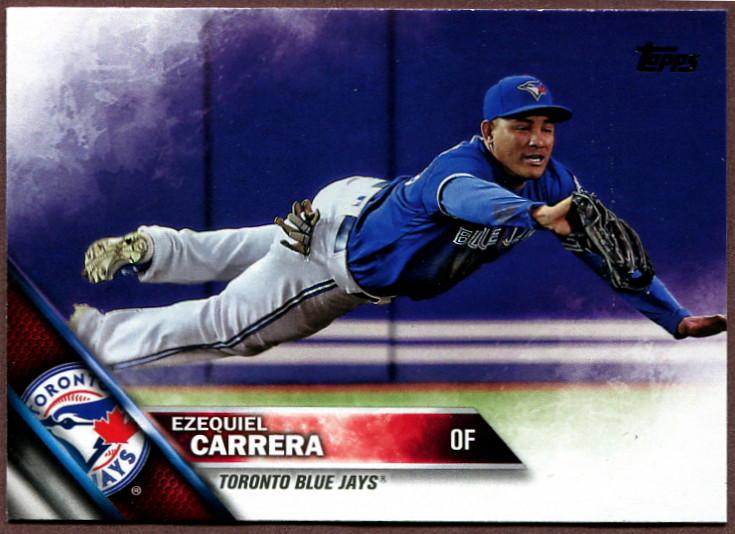 Toronto Blue Jays outfielder Ezequiel Carerra set career highs in several offensive categories in 2017.