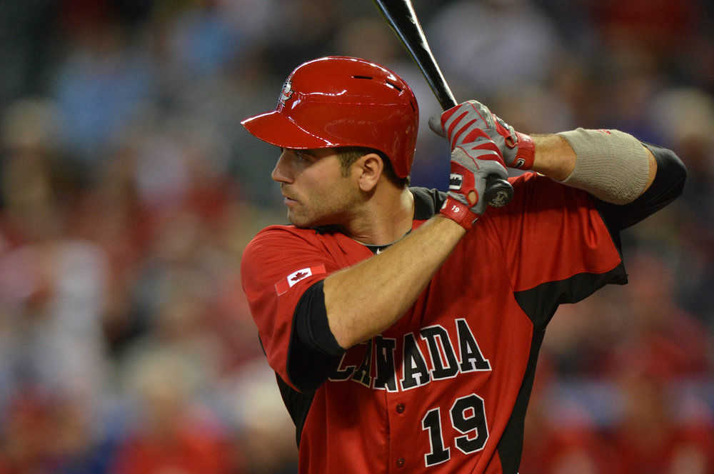 Etobicoke, Ont., native Joey Votto who played for Canada in the 2009 and 2013 World Baseball Classics has been named the 2017 Lou Marsh Trophy winner, as Canada's top athlete. Photo Credit: Baseball Canada