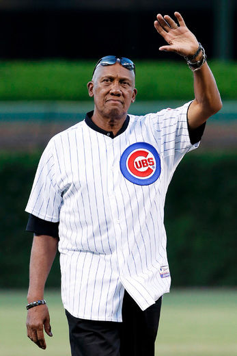 Friends gathered for a surprise party in Chicago on Saturday to celebrate Canadian pitching legend Fergie Jenkins' 75th birthday. Photo Credit: Nam Y. Huh/AP