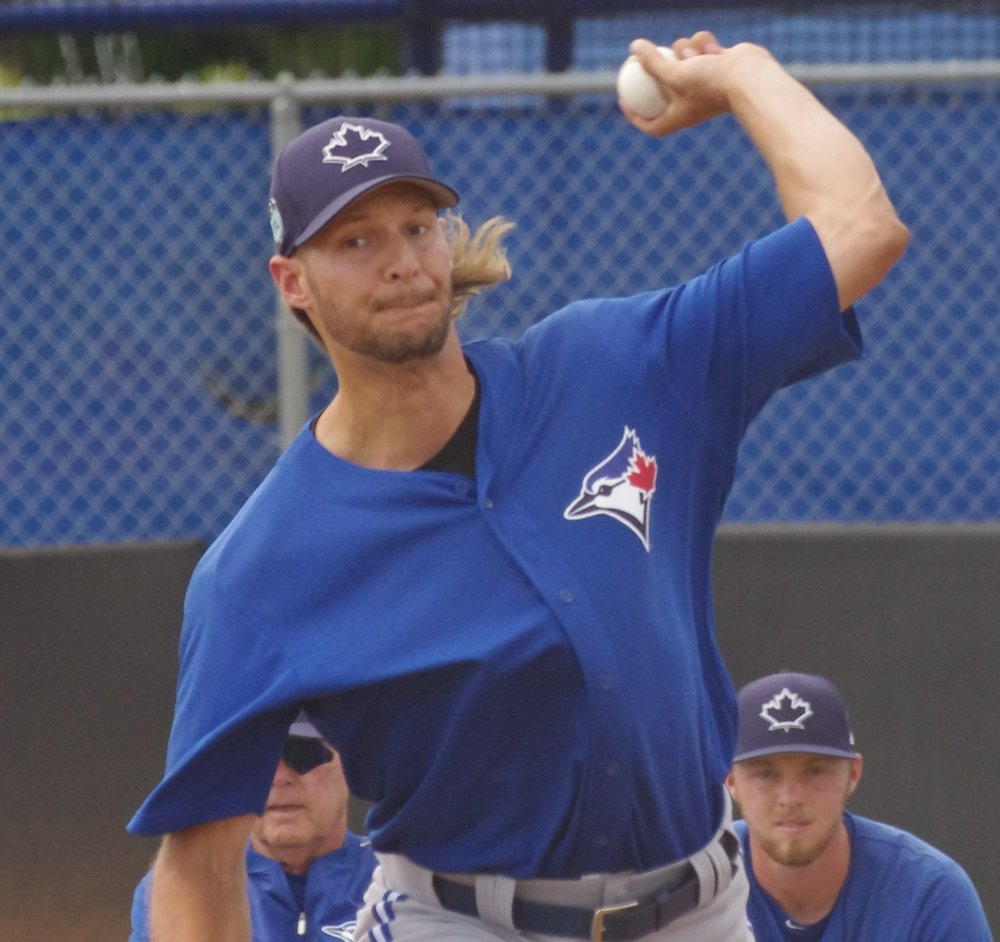 Left-hander Matt Dermody posted a 1.96 ERA in his final 18 1/3 innings for the Toronto Blue Jays in 2017. Photo Credit: Jay Blue