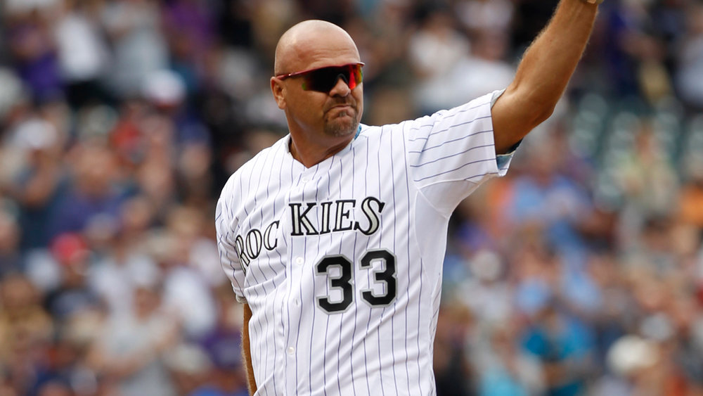 Maple Ridge, B.C., native Larry Walker is worthy of a plaque in Cooperstown. Photo Credit: BSN Denver
