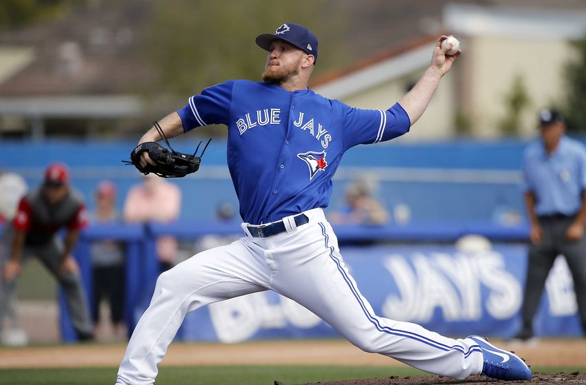 Left-hander J.P. Howell struggled out of the Toronto Blue Jays' bullpen in 2017. Photo Credit: Kim Klement, USA Today Sports