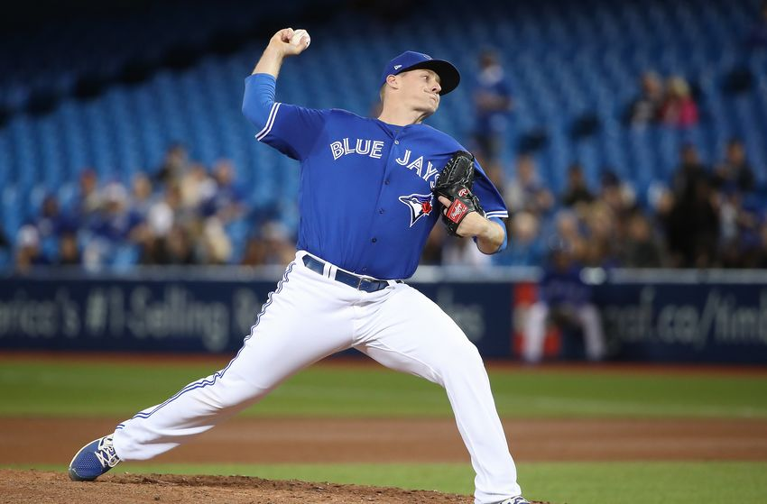 Right-hander Tom Koehler posted a 2.65 ERA in 15 appearances for the Toronto Blue Jays in 2017.
