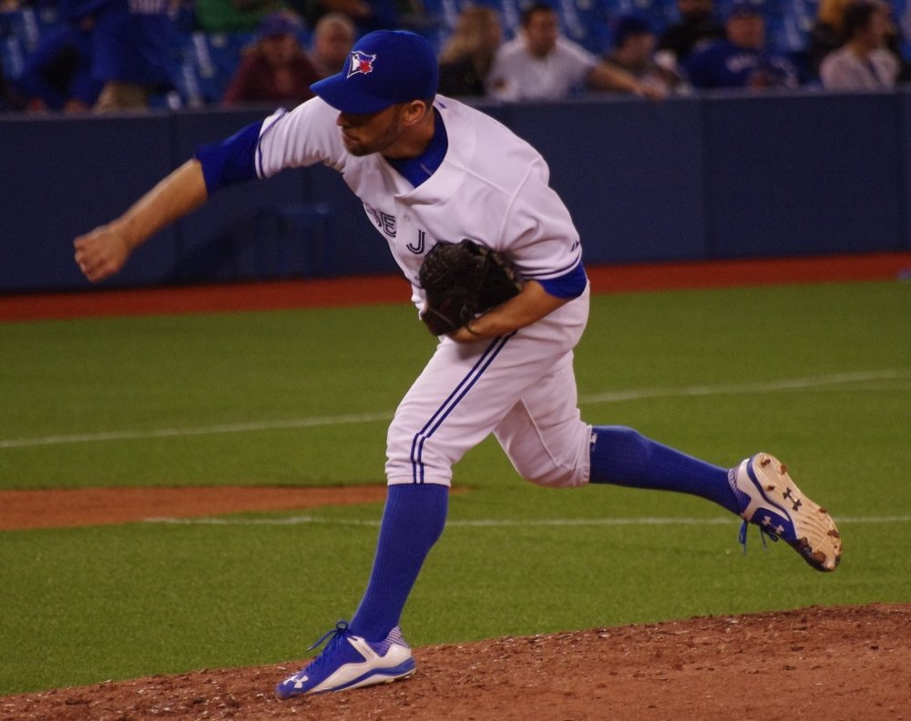 Right-hander Marco Estrada had an up-and-down season with the Toronto Blue Jays in 2017. Photo Credit: Jay Blue