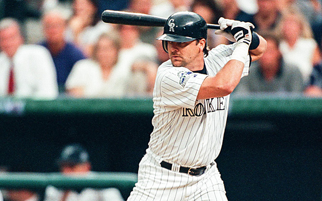 Veteran baseball writer Tracy Ringolsby shares that Maple Ridge, B.C., native Larry Walker's name was one of the first he checked off on his National Baseball Hall of Fame ballot this year.  Photo Credit: Getty Images.