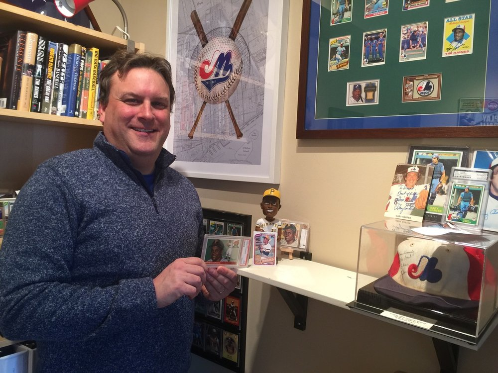 Ottawa Champions co-owner David Gourlay has done extensive research on the two games that Hall of Famer Roberto Clemente played in Ottawa during the 1954 season as a member of the triple-A Montreal Royals. Photo Credit: David Gourlay