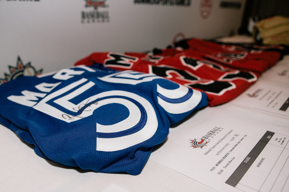 Baseball Canada has unveiled its list of auction items that will be available at its annual National Teams Awards Banquet on January 13. Photo Credit: Baseball Canada