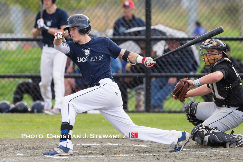 Victoria Mariners' Jason Willow earned BC Premier League First Team Honours, led the league in hitting and shared MVP honours. Photo: Christian J. Stewart.