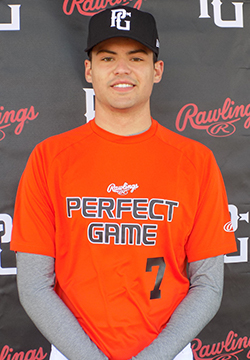 RHP-OF Matthew Panzica (Maple, Ont.) impressed at the Perfect Game World Uncommitted Showcase in Fort Myers.