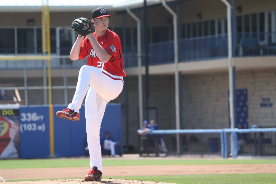 After being named Atlanta Braves Minor League Pitcher of the Year, Calgary, Alta., native Mike Soroka ranks 27th on Baseball America's Top 100 MLB Prospects list. Photo Credit: Baseball Canada