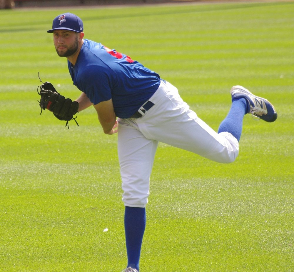Left-hander Tim Mayza made his major league debut with the Toronto Blue Jays in 2017. Photo Credit: Jay Blue