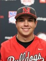 C Evan Willow (Victoria, BC) of the McPherson Bulldogs, a biochemistry student, hit .307 and knocked in four runs in the school's opening weekend.