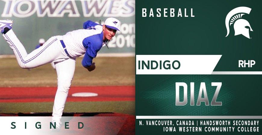 Another former Langley Blaze Indigo Diaz (North Vancouver, BC).