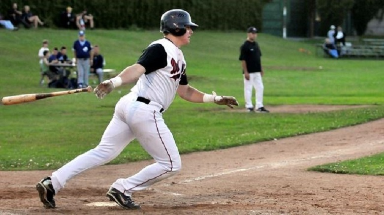 Jordaan Castaldo has played for Oshawa, Toronto and Barrie, Castaldo was a seven-time all-star, a batting champ and MVP (2014( and a Playoff MVP (2015) batting .340 with 70 doubles, two triples, 45 homers and 245 RBIs.
