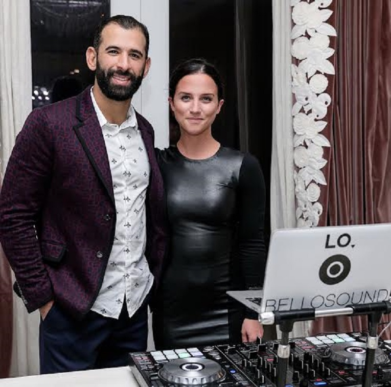 The social event of the 2017 season was the party at the Audi Mansiion on the Bridle Path. Playing the music was DJ Lauren (LO) Thompson (Toronto, Ont.) of Bellosound. Jose Bautista stopped by to say hello..