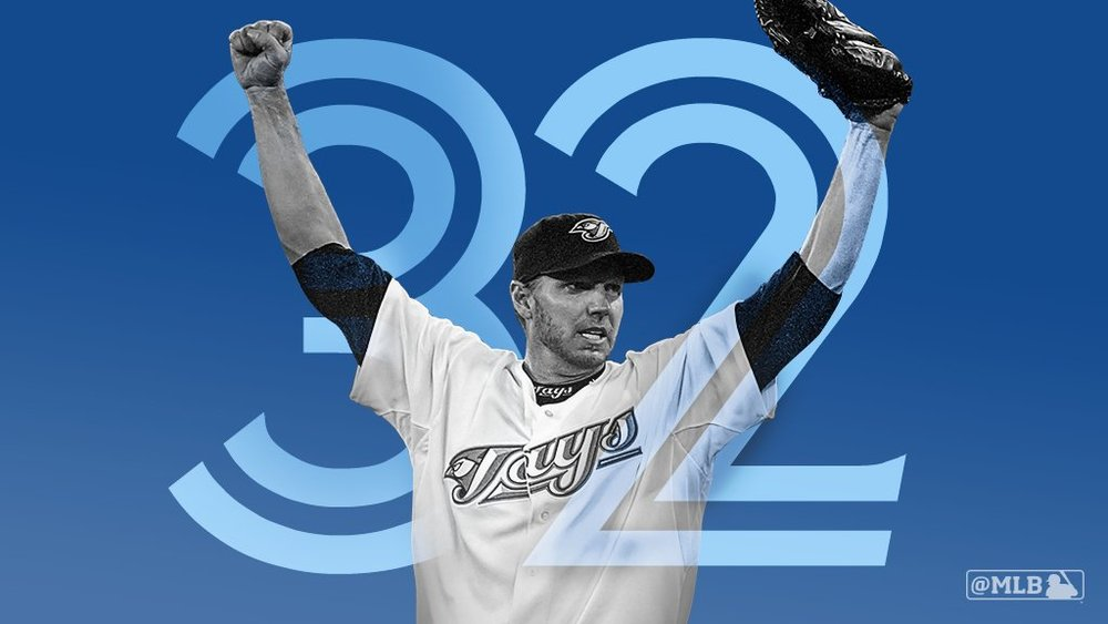 The Toronto Blue Jays will retire long-time ace Roy Halladay's No. 32 on Opening Day. Photo Credit: Toronto Blue Jays