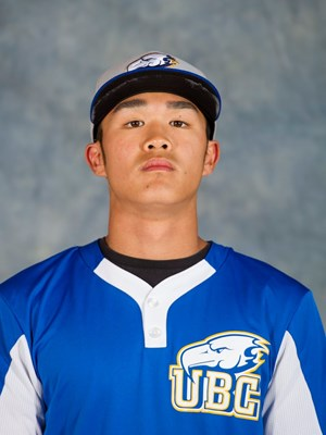 Whalley Chiefs' INF Lichel Hirakawa-Kao (Vancouver, BC) hit .400 (4-for-10) with a home run and four RBIs for UBC.