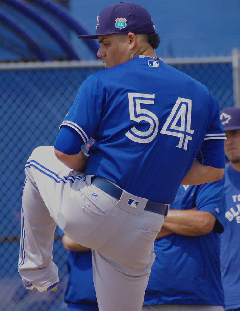 Roberto Osuna will return as the Toronto Blue Jays closer in 2018. Photo Credit: Jay Blue