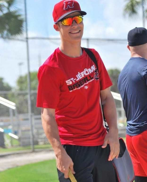 Patriotes de St-Eustachhe C Samuel Chaput (Ste-Jerome, Que.) drove in eight runs with a pair of home runs for the Crowder Roughriders.