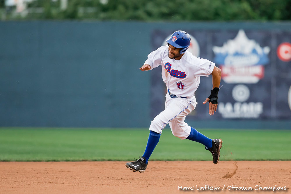 The Ottawa Champions have traded outfielder Tyson Gillies (Vancouver, B.C.) to the Gary SouthShore RailCats. Photo Credit: Marc Lafleur