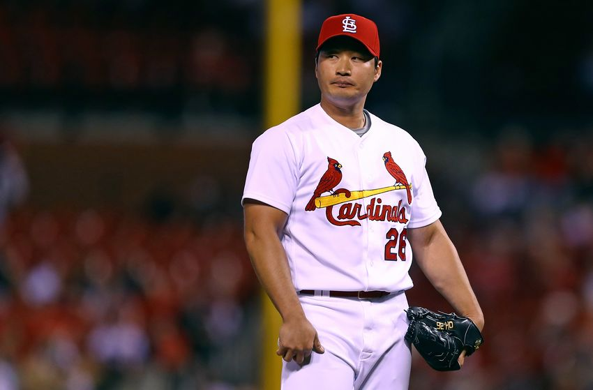 The Toronto Blue Jays have reportedly comes to terms with South Korean reliever Seung-hwan Oh. Photo Credit: Billy Hurst/USA Today Sports