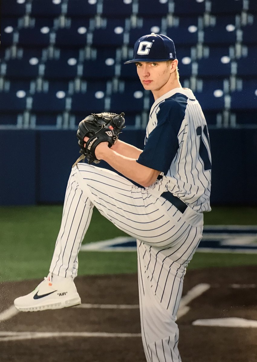 RHP Braden Halladay, son of the late Roy Halladay of Arvada, Col. hhopes to pitch for the Canadian Junior National Team later this month.