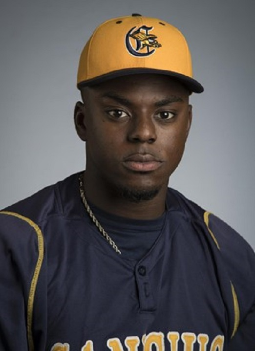 Ontario Royals grad OF Canice Ejoh (Brampton, Ont.) of the Canisius Golden Griffins.