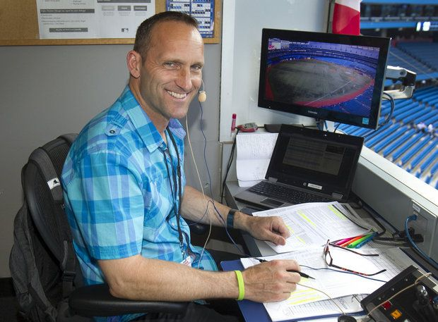 Windsor, Ont., native Joe Siddall will shift from the radio booth to the Toronto Blue Jays TV crew in 2018. He was serve as a studio analyst. Photo Credit: Toronto Blue Jays