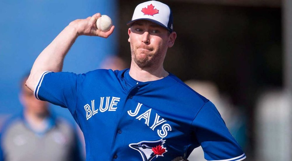 RHP John Axford (Port Dover, Ont.) is in camp with the Blue Jays.